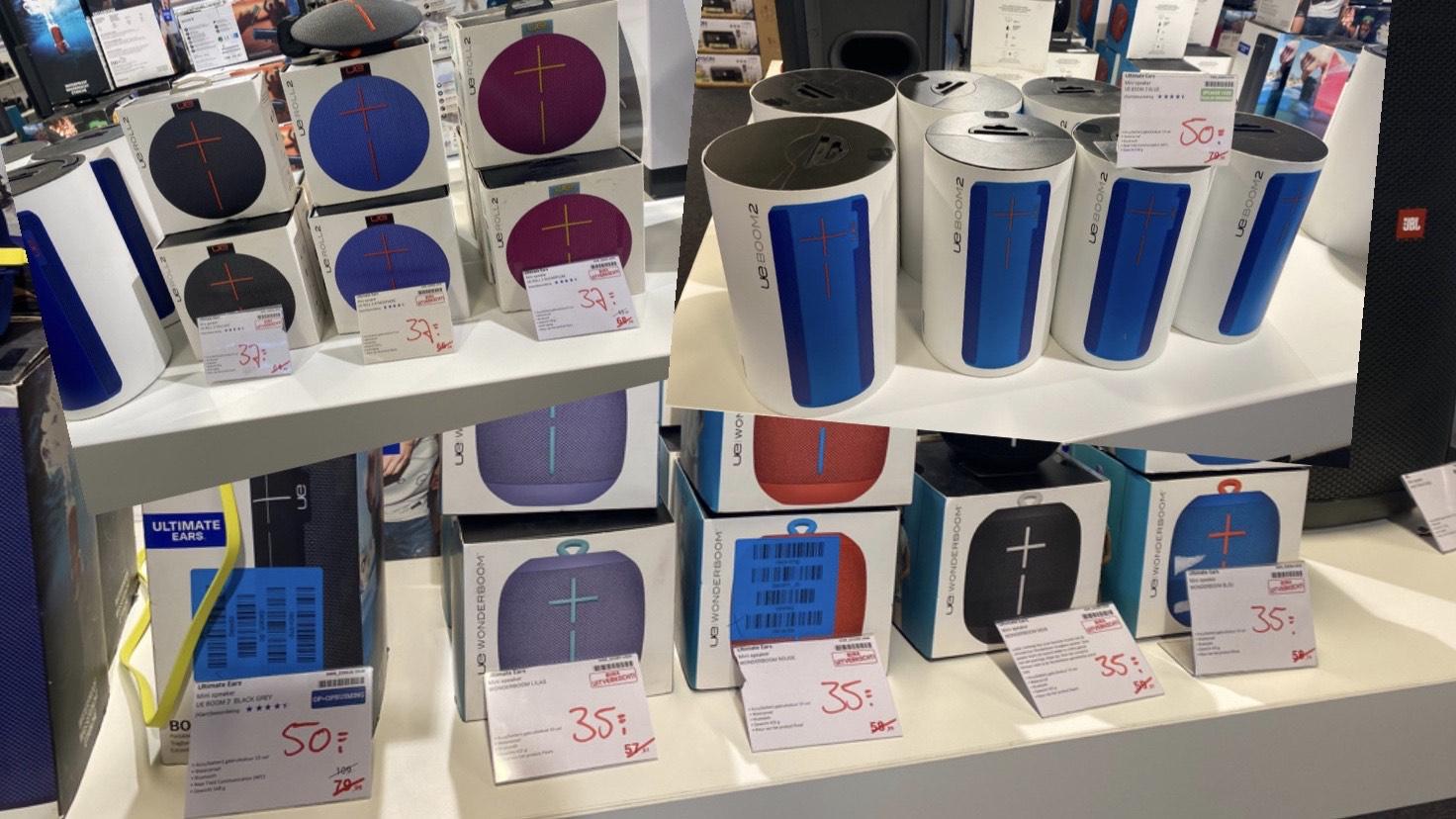 Ultimate Ears speakers met hoge korting (Lokaal: BCC Den Bosch)