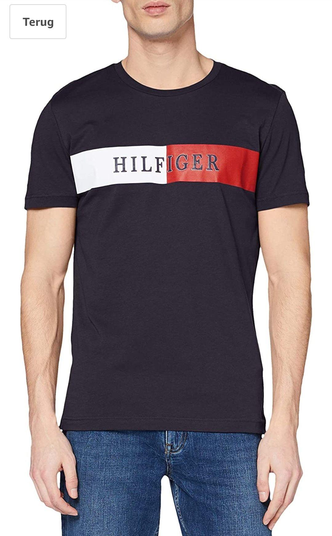 Tommy Hilfiger Heren Block Stripe T-shirt