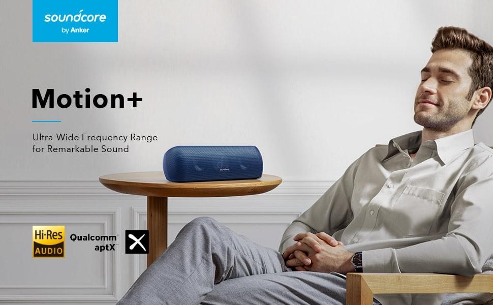 Anker Soundcore Motion+ Bluetooth 5.0 luidspreker met Hi-Res 30W geluid en EQ
