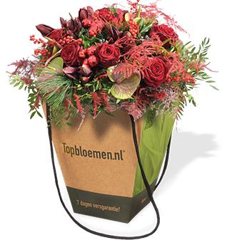 100 mensen gratis bloemen @topbloemen.nl