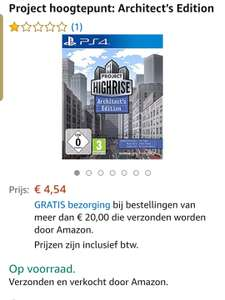 Project Highrise - Architects Edition @Amazon NL
