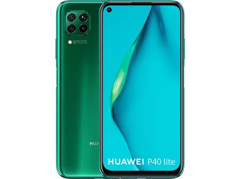 Huawei P40 Lite - 6GB/128 GB Dual-sim Groen @ Media Markt