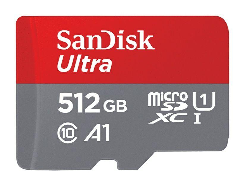 [PRIJSFOUT?] SanDisk Ultra microSD UHS-I-Kaart 512GB @ Western Digital Store