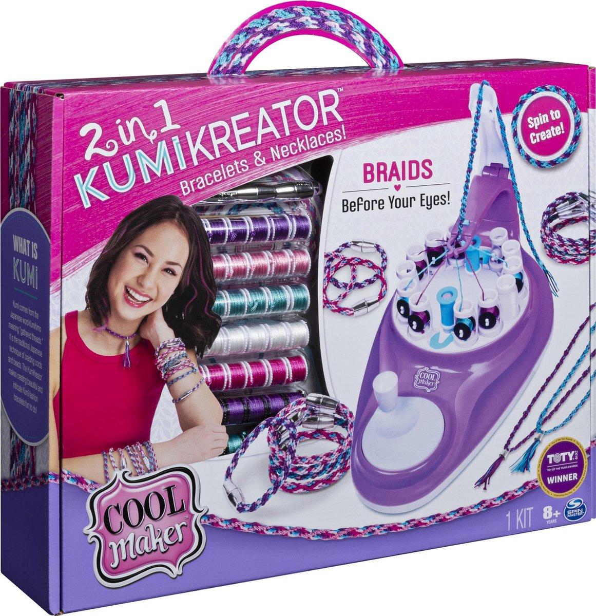 Cool Maker KumiKreator Studio 2 in 1 Speelset @ Kruidvat