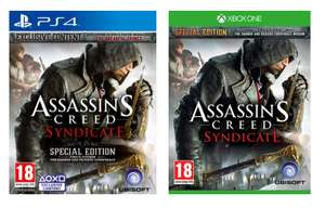 Assassins Creed: Syndicate Special Edition (PS4/Xbox One) voor €35,34 @ Simplygames