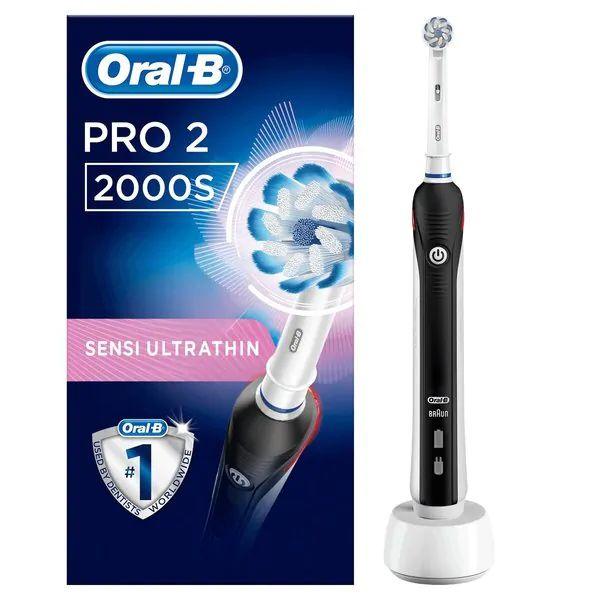 Oral B Pro 2 2000S elektrische tandenborstel