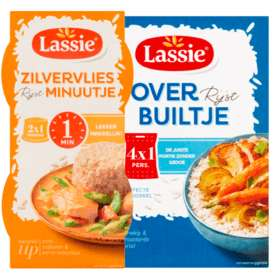 Alle Lassie Rijstbuiltjes of minuutje €1 @ PLUS bijvoorbeeld Builtjes quinoa 1 persoon van €2,89 voor €1