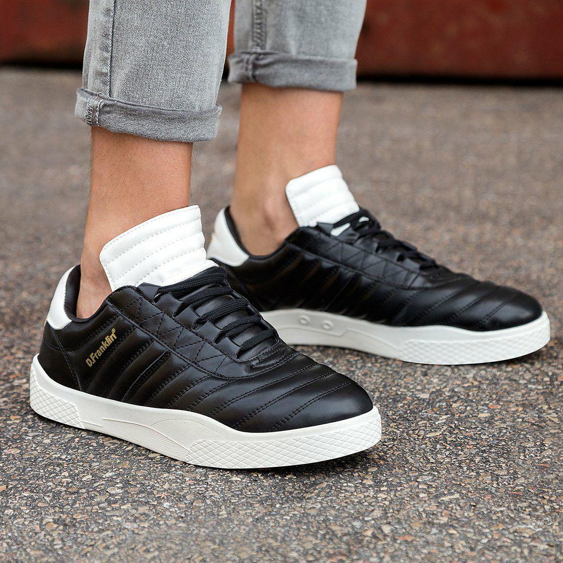 D. Franklin 918 Black Heren Sneakers