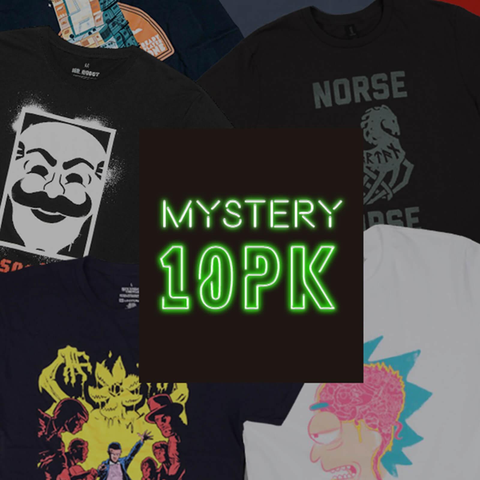 10 willekeurige Mystery Geeky T-Shirts + 2 Funko pop @ Zavvi