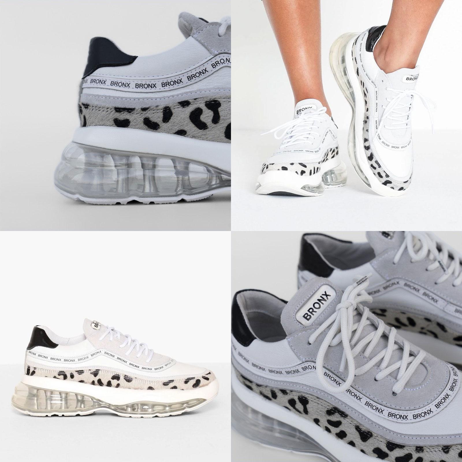 Bronx sneakers Bubbly Dalmatian [waren €159,95] @ Omoda