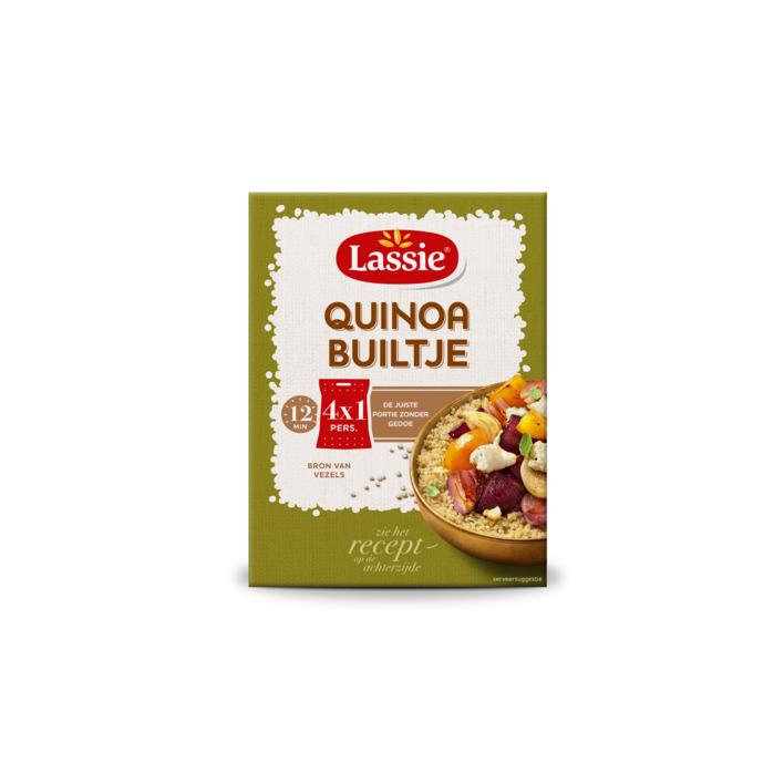 AH: Lassie Builtjes quinoa pak 300g van €2,85 voor €0,99