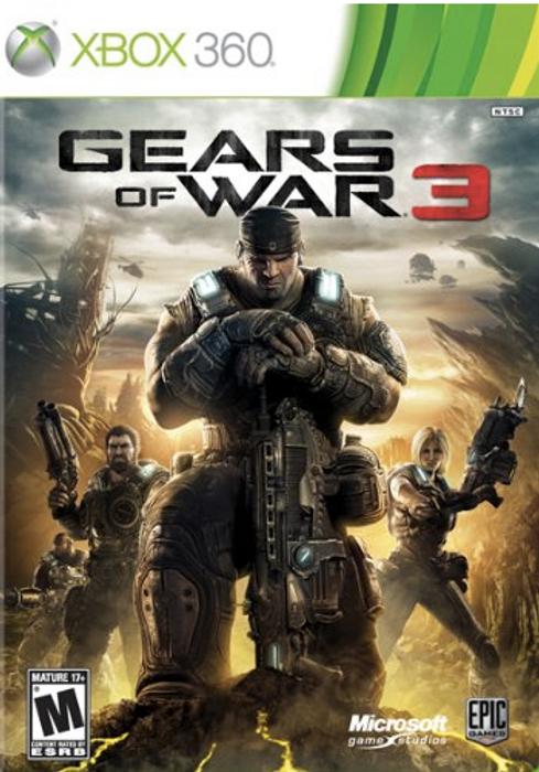 GEARS OF WAR 3 XBOX 360
