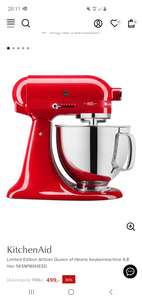 Kitchenaid Limited Edition Artisan Queen of Hearts keukenmachine 4,8 liter 5KSM180HESD