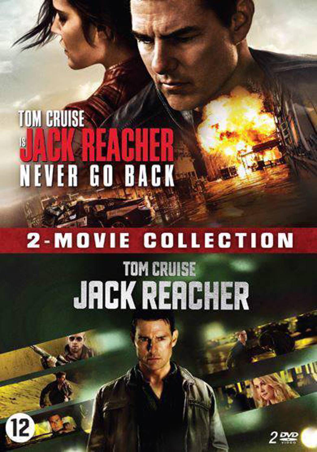 Jack Reacher 1 & 2 DVD