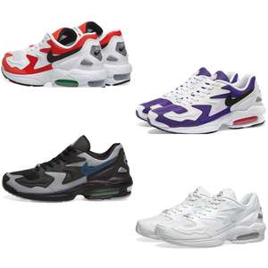 Nike Air Max 2 sneakers [36 t/m 40,5 - was €129] @ END.