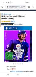Nhl 20 ps4 amazon.de