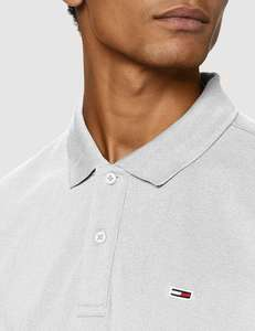 Tommy Jeans TJM Classics Solid Stretch Poloshirt voor heren