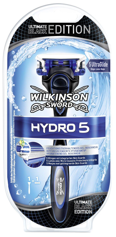 Wilkinson Hydro 5 apparaat ultimate black edition + 1 mesje voor €1,80 @ Amazon.de