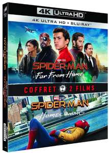 Spider-Man: Homecoming + Far from Home 4K+blu-ray €11,56 @ Amazon.nl