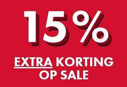 SALE tot -70% + 15% EXTRA + €10 extra (va €50) @ WE Fashion