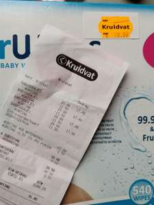 40% extra korting op Waterwipes super value 9 pack @Kruidvat