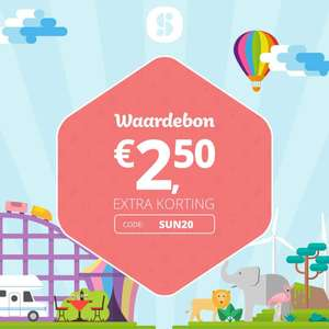 Zonnige €2.50 social deal korting :)