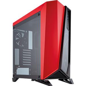 (Recihelt) Corsair Carbide SPEC-OMEGA Zwart/Rood voor €81,82