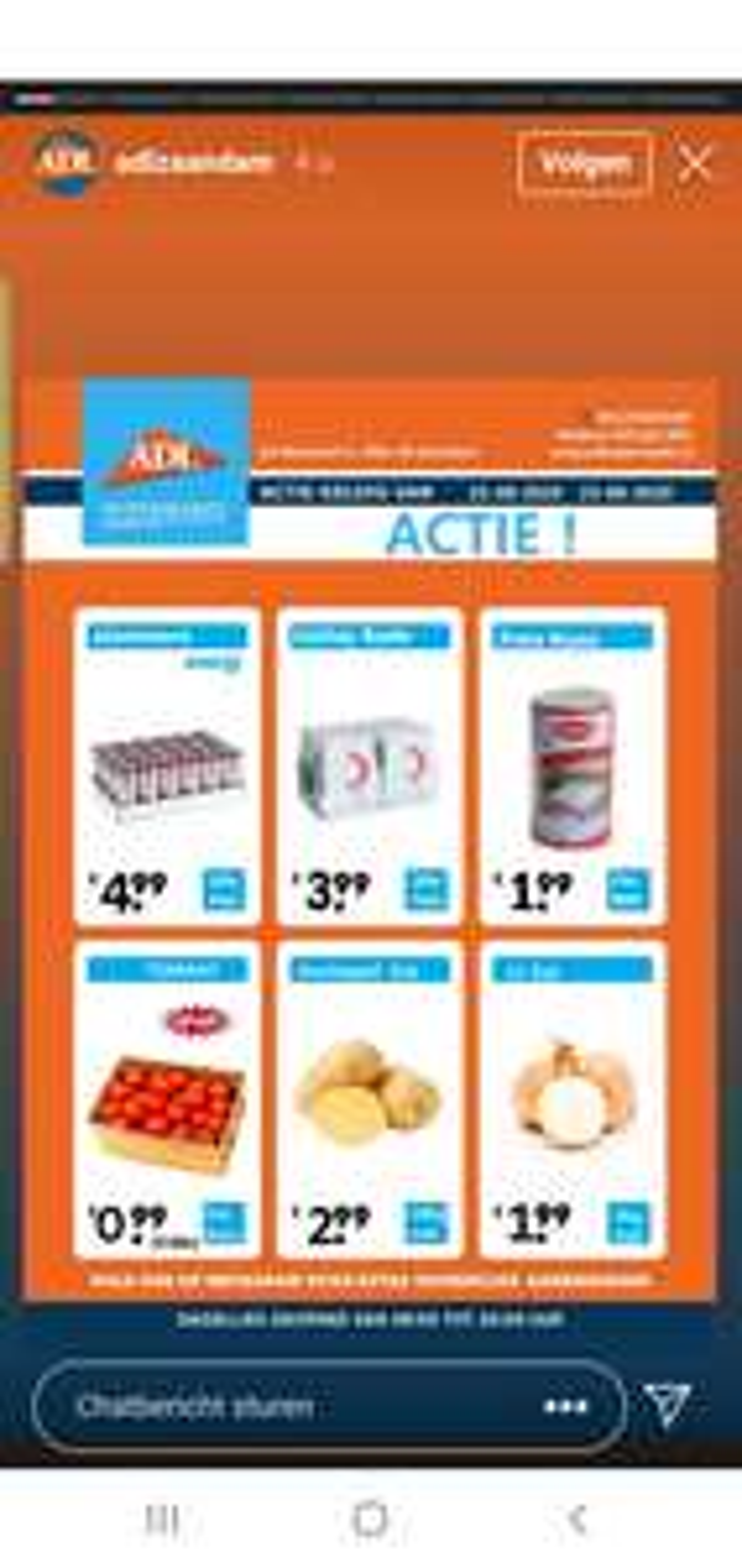 [LOKAAL] o.a 5 kilo tomaten voor 1 euro @ ADL Supermarkt Zaandam