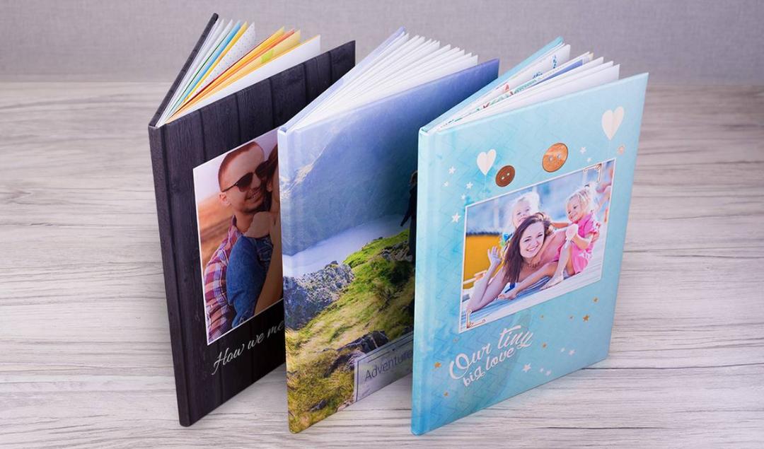 Colorland A4 fotoboek 140 pagina's met harde kaft (inclusief verzendkosten) @ Groupon.nl