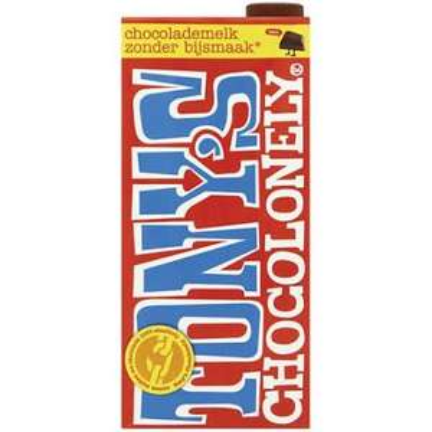 Tony chocolonely chocolade melk @Die Grenze