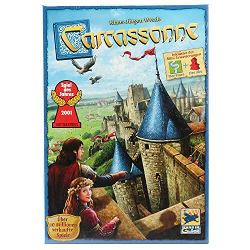 Carcassonne bordspel basisset (Amazon.de)