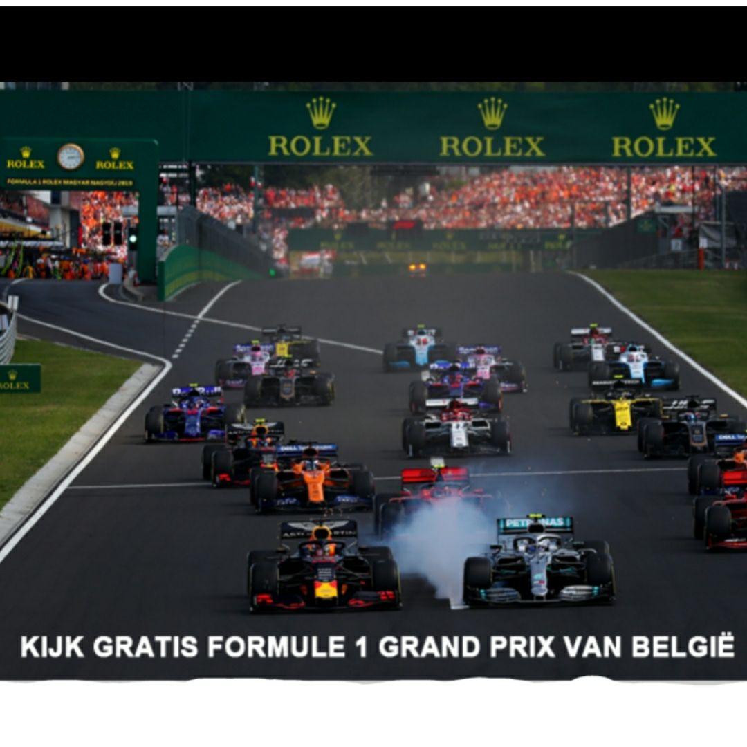 Gratis GP van België kijken voor klanten van alle providers