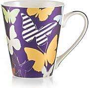 E-My Queen Mug, New Bone China, meerkleurig