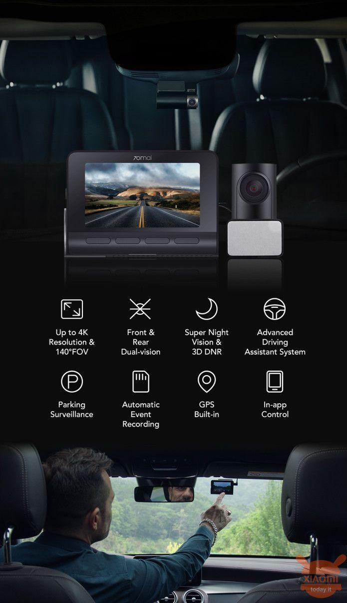 Xiaomi 70mai A800 4K dashcam