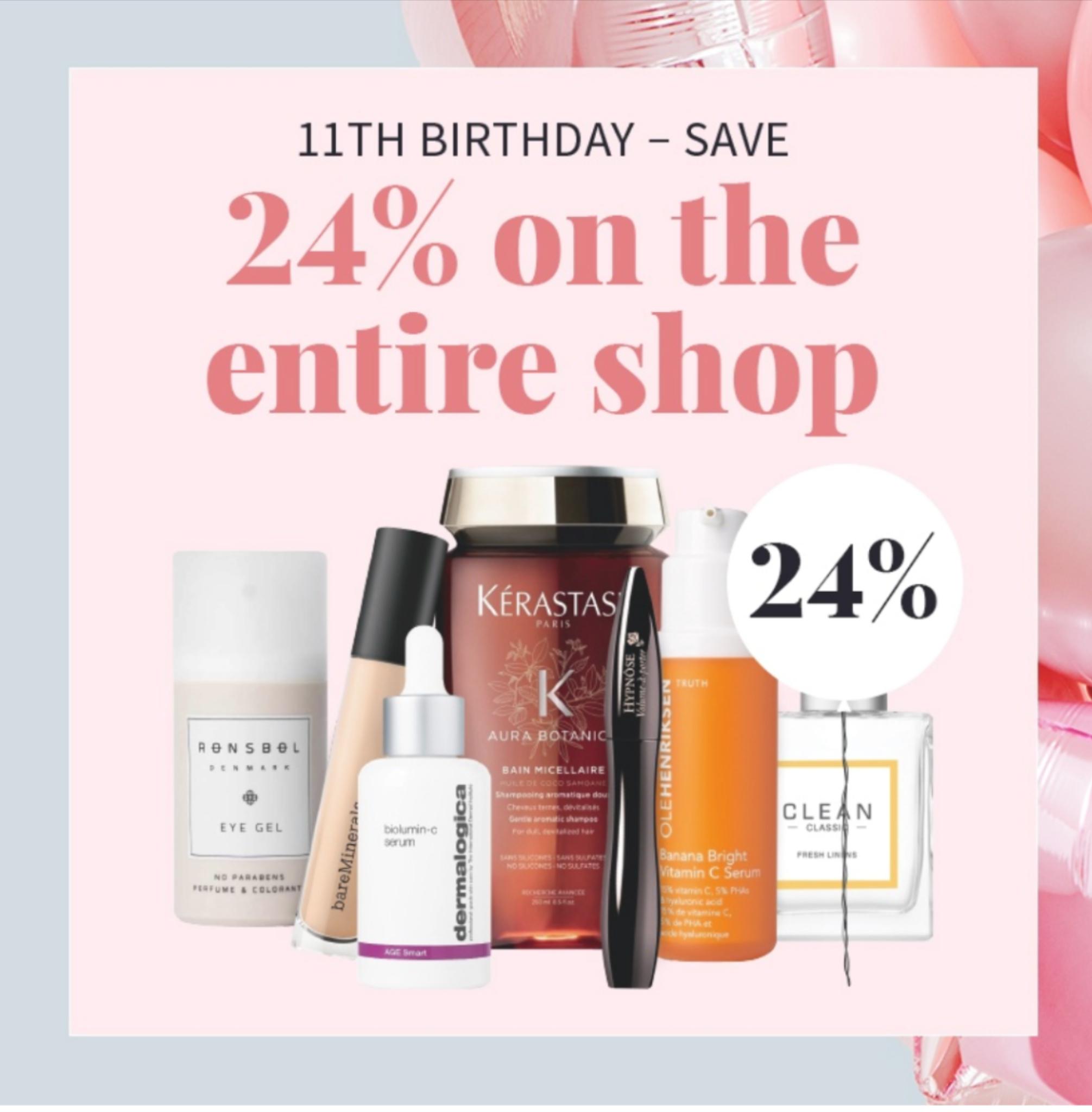 24% korting op alle producten bij Nicebeauty