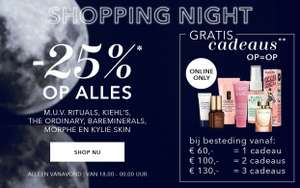 Va 18u: Shopping Night -25% @ Douglas
