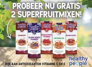 Bij de Linda. gratis 2 pakken Healthy People
