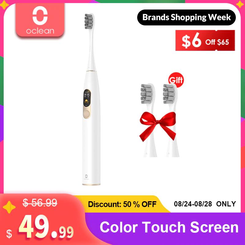 Oclean X Sonic Ipx74 smart tandenborstel Inc borstels