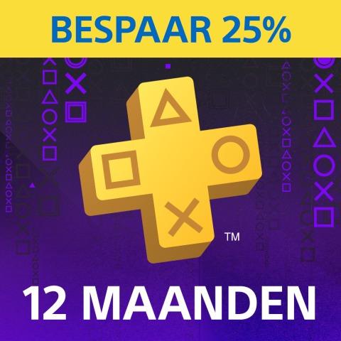 PlayStation Plus: lidmaatschap van 12 maanden @ PSN