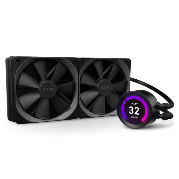 NZXT Kraken Z63 CPU Waterkoeler met 2.36 inch LCD Display