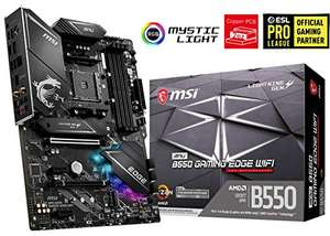MSI B550 MPG Gaming Edge moederbord (ATX, DDR4, M.2, USB 3.2 Gen 2 WLAN6, WiFi)