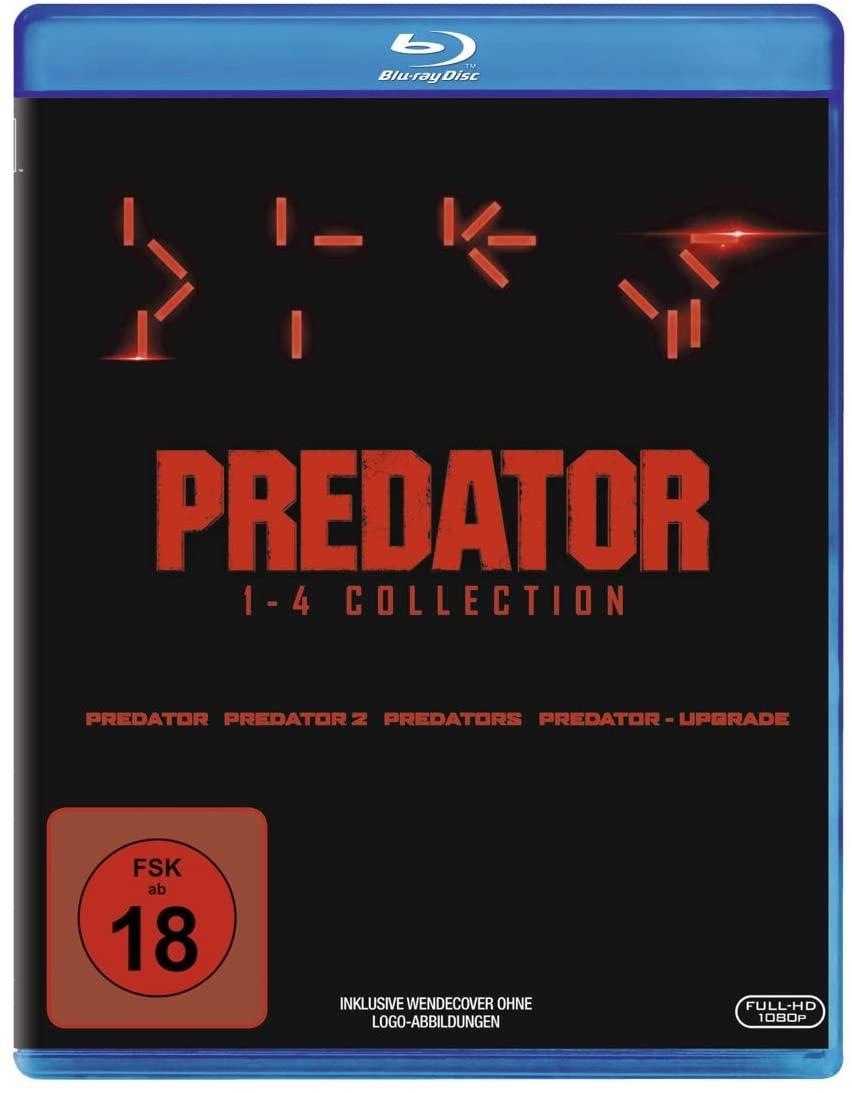 Predator 1 t/m 4 Blu-ray collectie @ Amazon.nl
