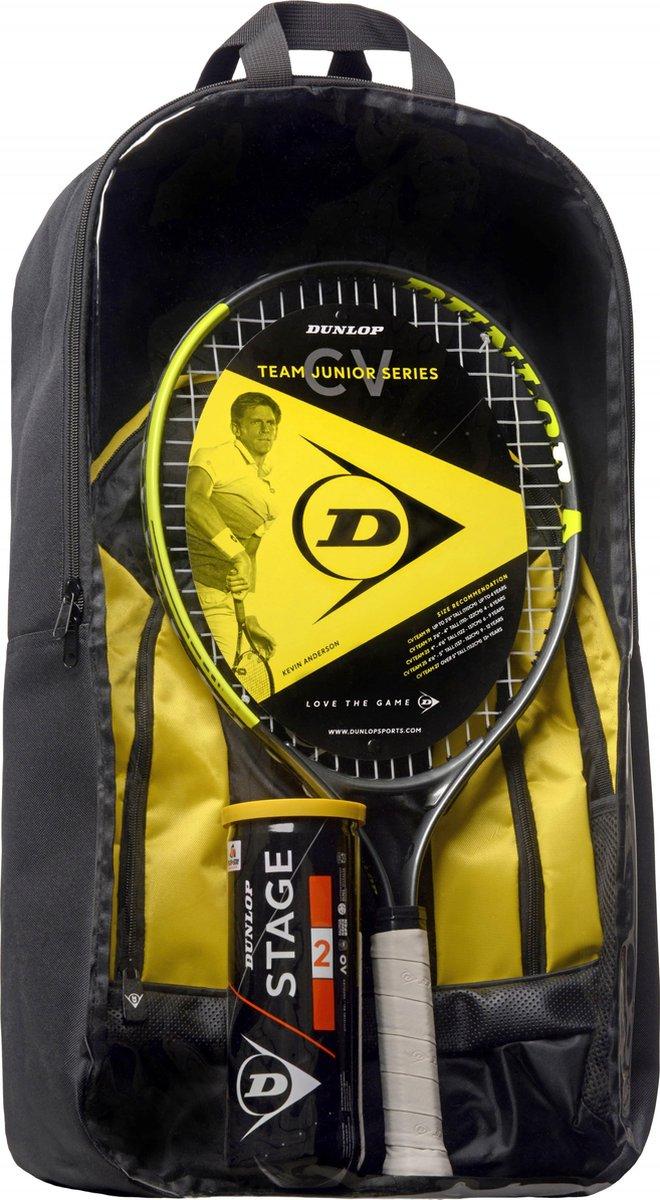 Dunlop CV Team Junior tennisracket set voor €19,95 @ Bol.com