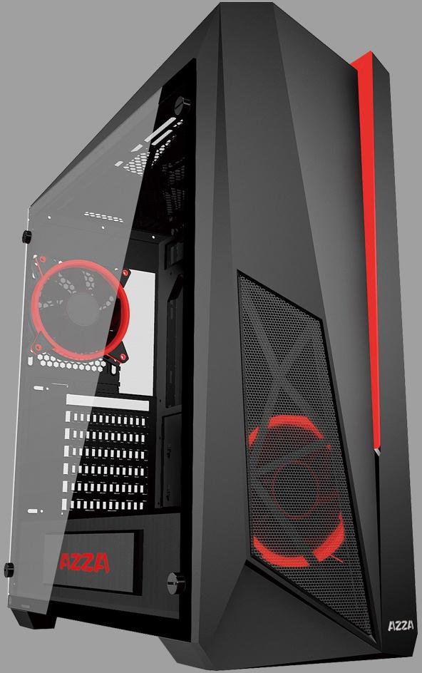 Azza Thor 320 behuizing met paneel en RGB