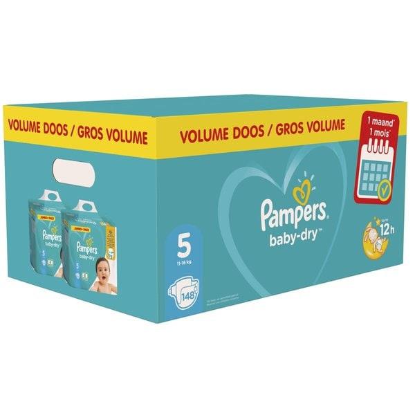 Pampers Baby Dry maandbox 2+1