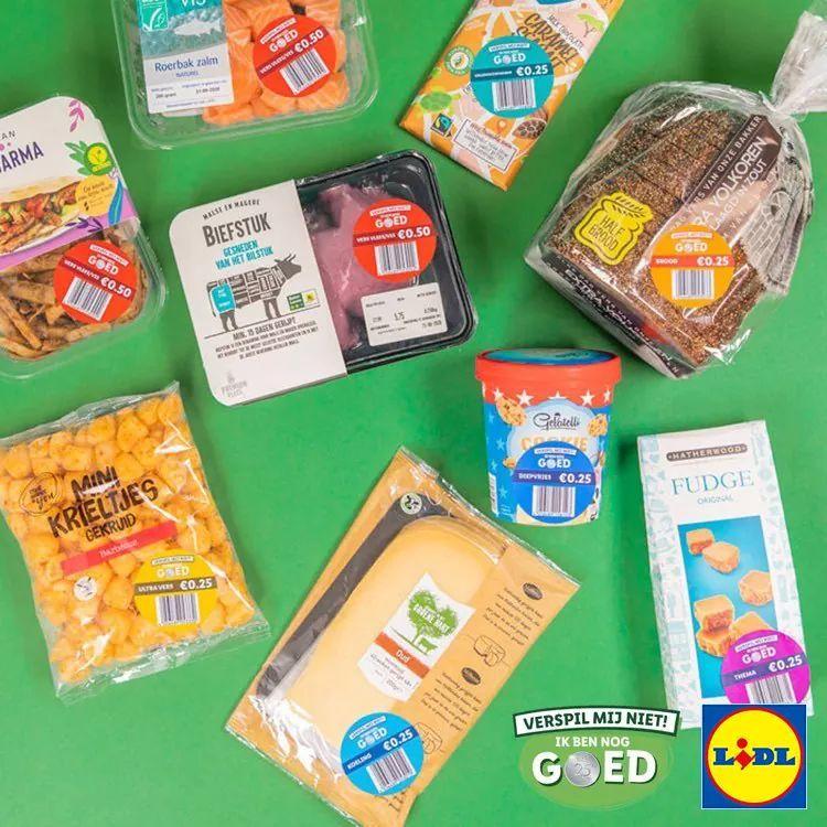 Lidl samen tegen voedselverspilling nu landelijk. Producten voor €0,25.