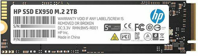 HP EX950 2TB - m.2 NVMe SSD