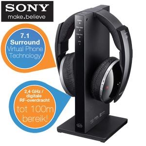 Sony MDR-DS6500 draadloze hoofdtelefoon voor €105,90 @ iBOOD