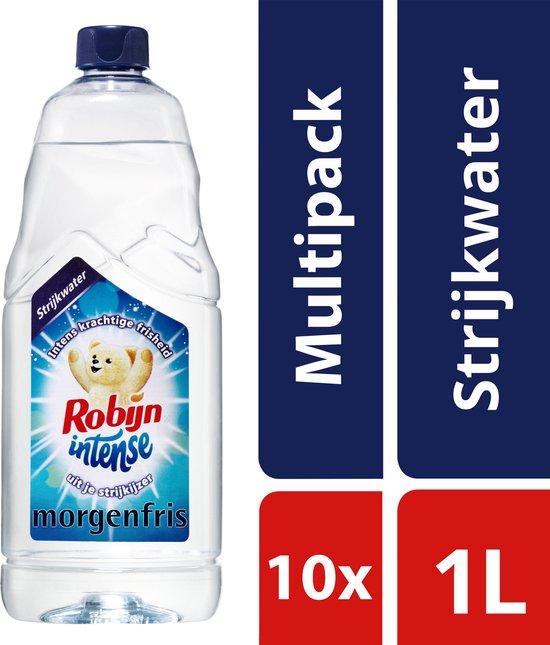 10x 1 liter Robijn Intense Morgenfris Strijkwater
