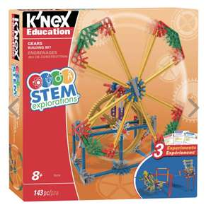 K'Nex Stem Explorations: Gears Building Set